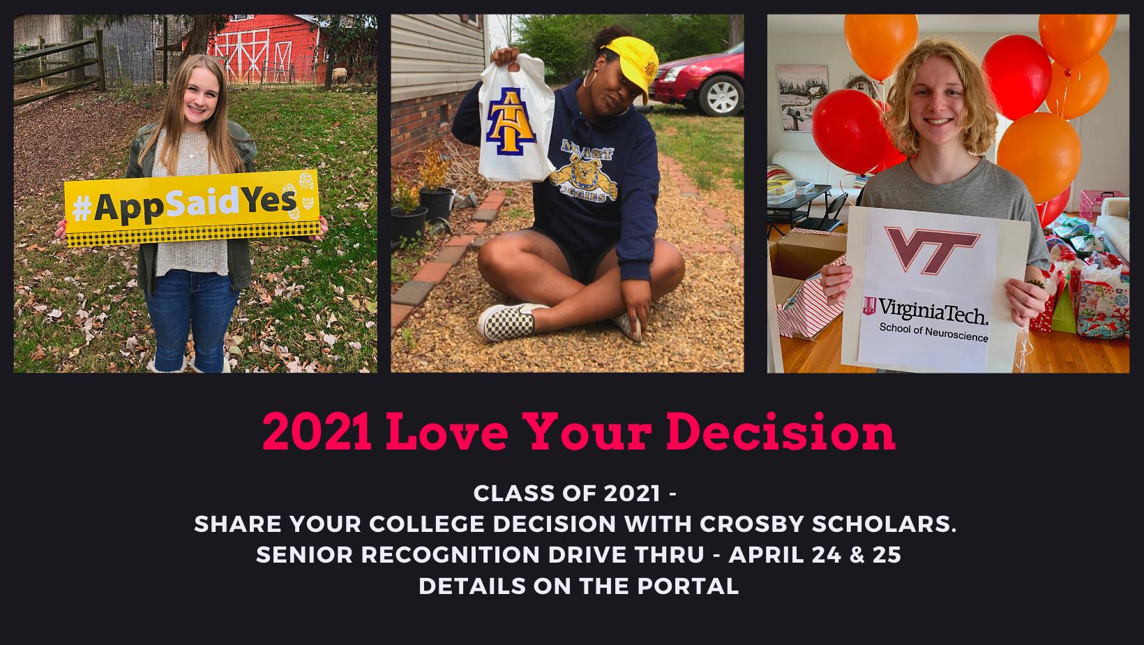 2021 Senior Recognition Drive-Thru Event